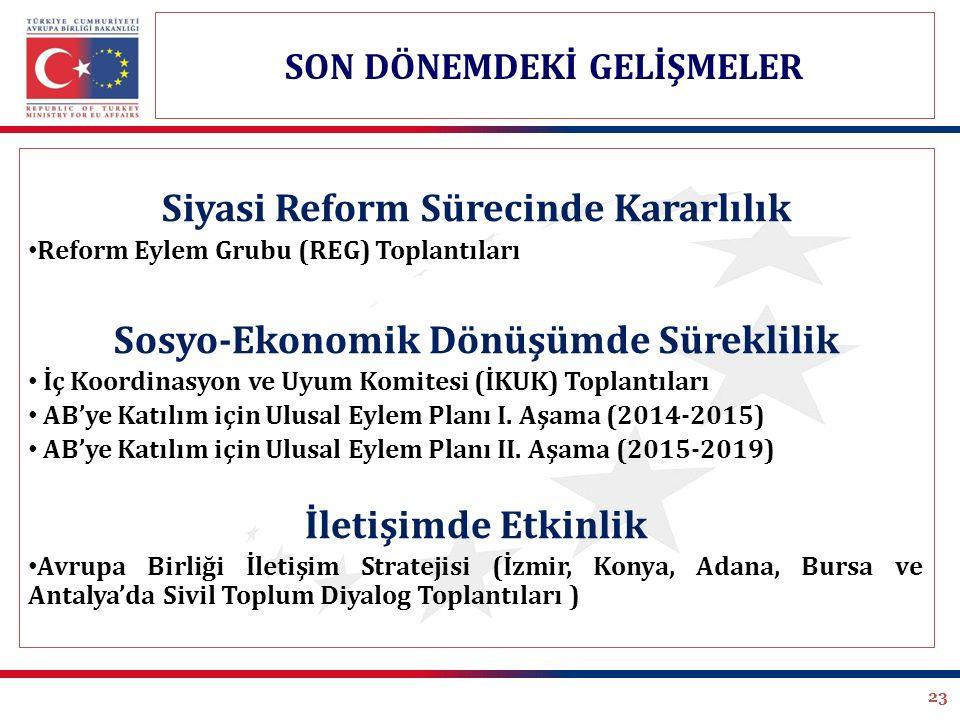 Siyasi Reform Sürecinde Kararlılık