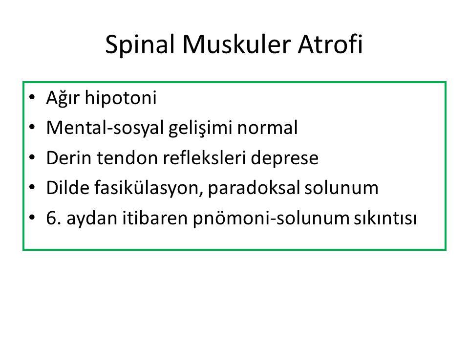 Spinal Muskuler Atrofi