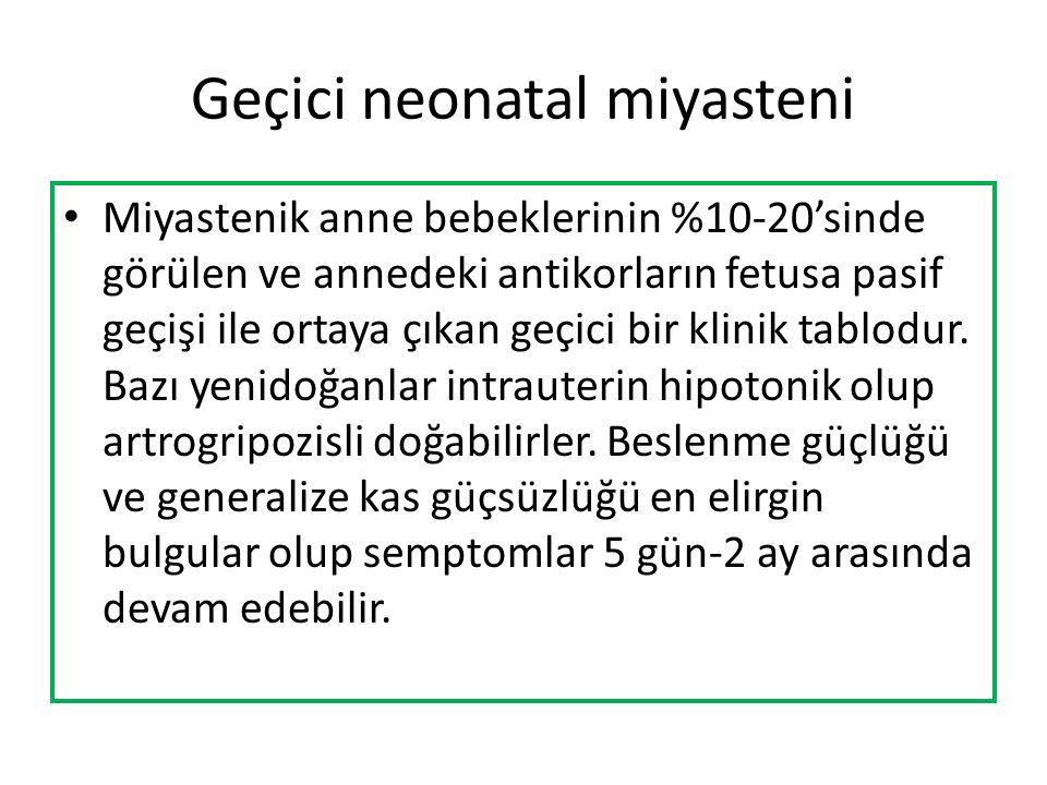 Geçici neonatal miyasteni