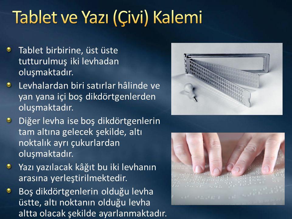 Tablet ve Yazı (Çivi) Kalemi