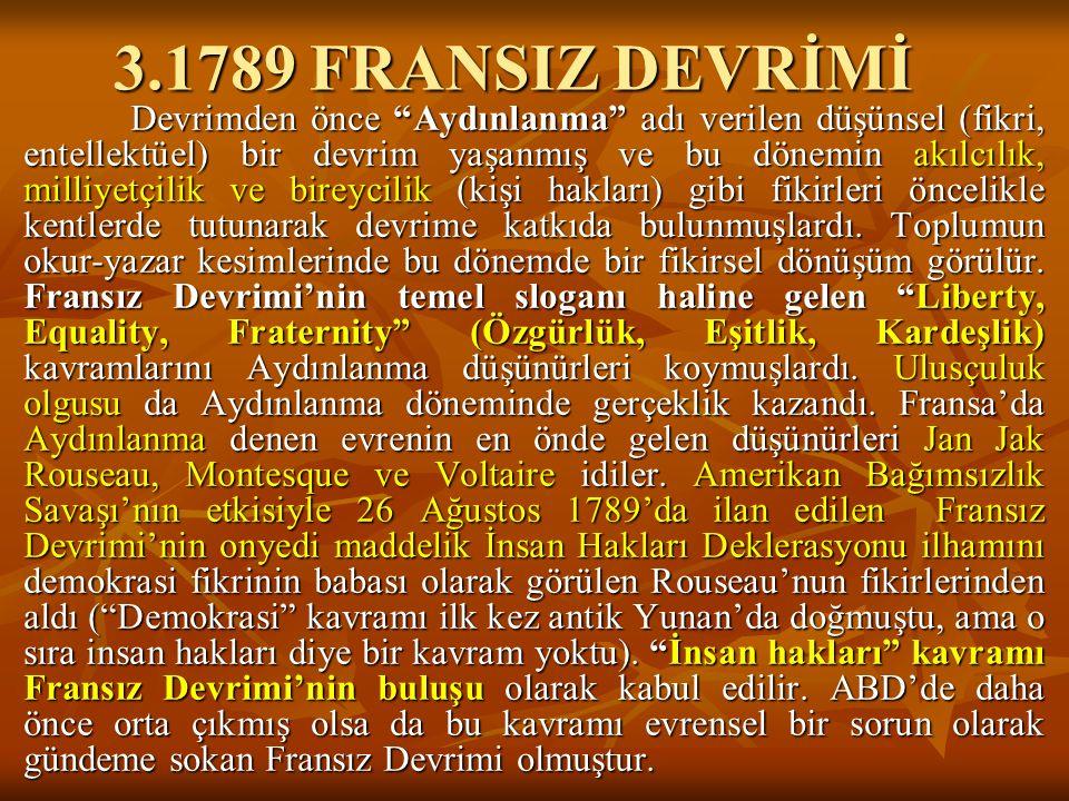 3.1789 FRANSIZ DEVRİMİ