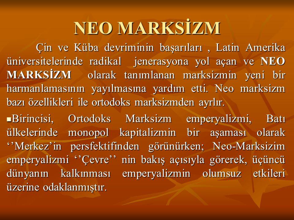 NEO MARKSİZM