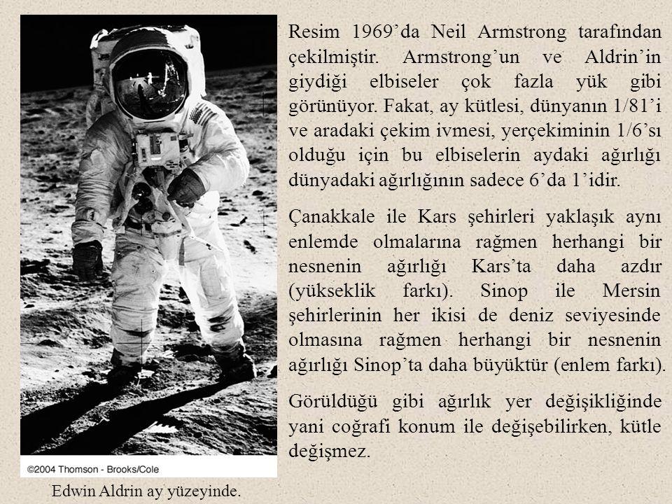 Resim 1969'da Neil Armstrong tarafından çekilmiştir