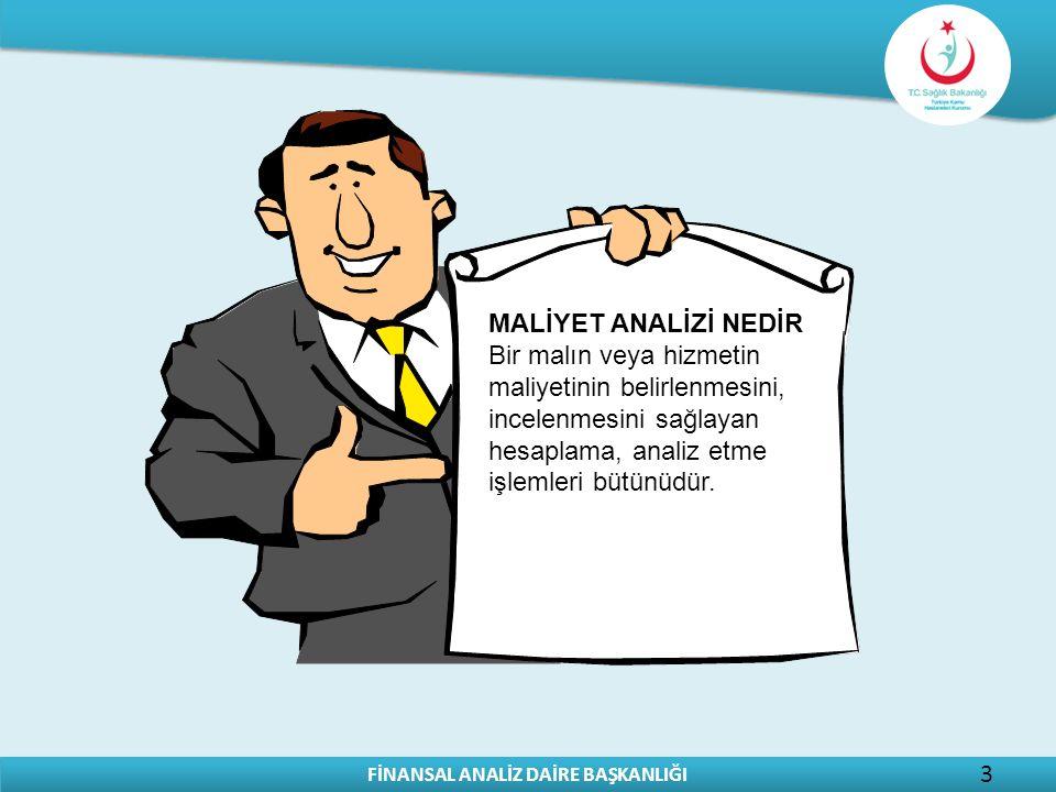 MALİYET ANALİZİ NEDİR Bir malın veya hizmetin maliyetinin belirlenmesini, incelenmesini sağlayan hesaplama, analiz etme işlemleri bütünüdür.