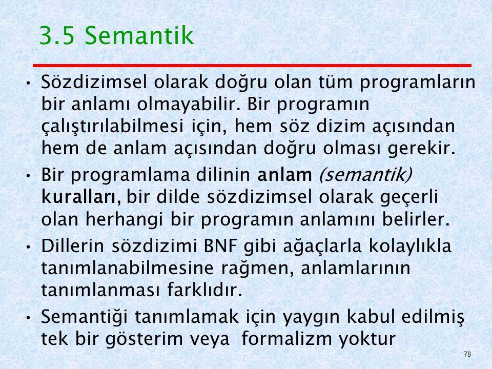 3.5 Semantik