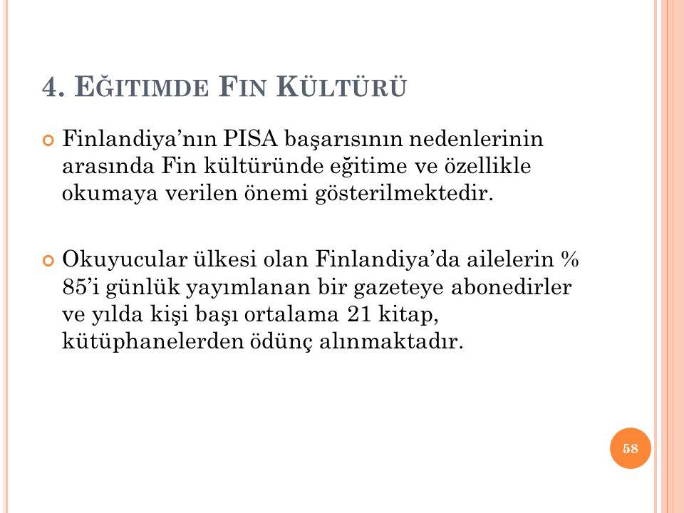 4. Eğitimde Fin Kültürü