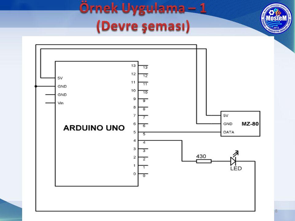 Örnek Uygulama – 1 (Devre şeması)