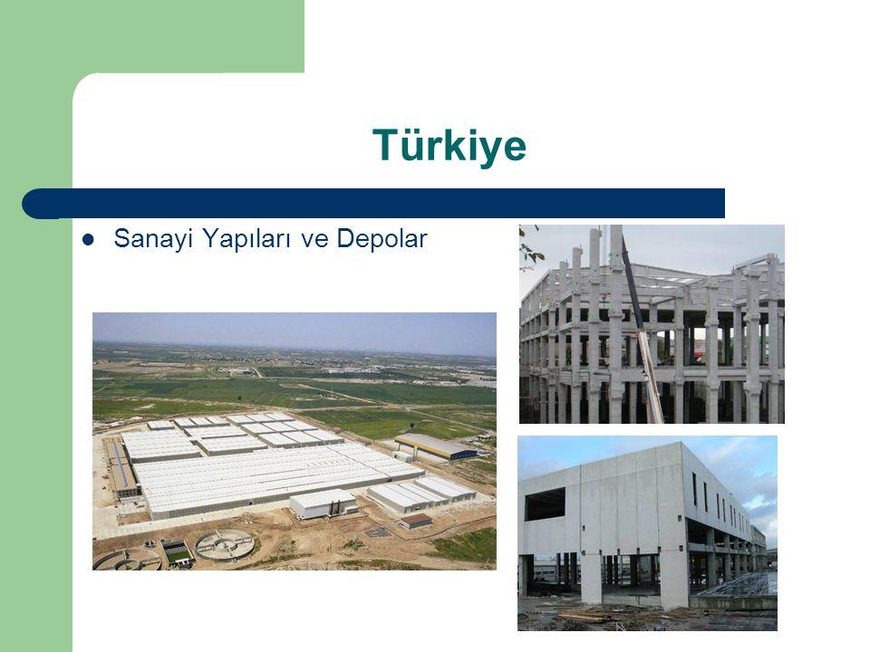 Türkiye Sanayi Yapıları ve Depolar