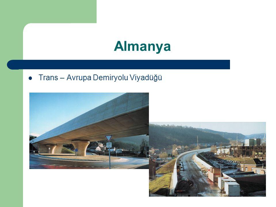 Almanya Trans – Avrupa Demiryolu Viyadüğü