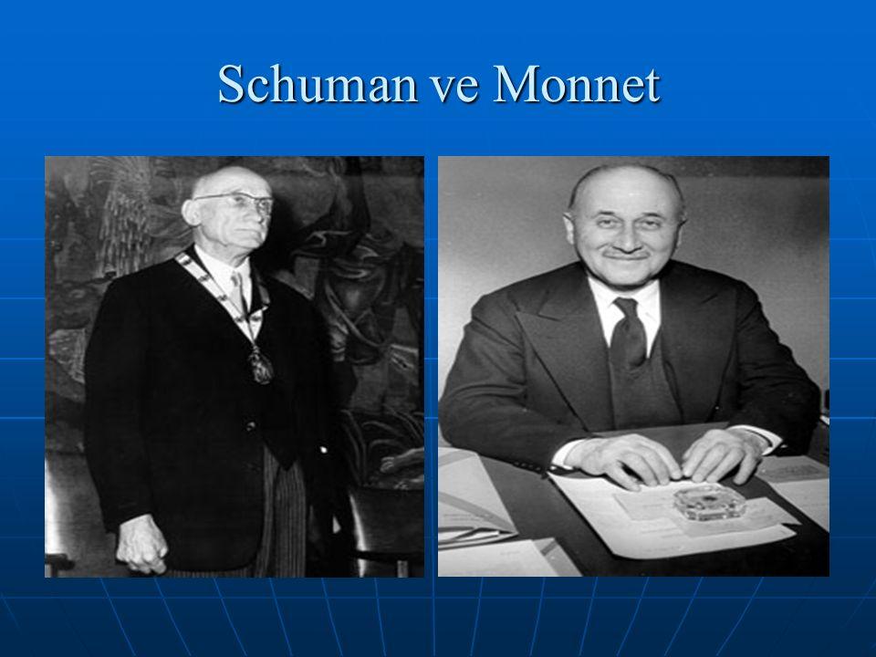 Schuman ve Monnet