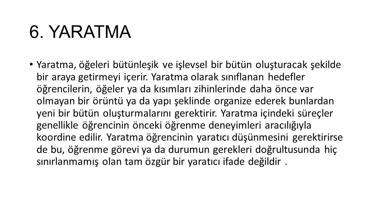 6. YARATMA