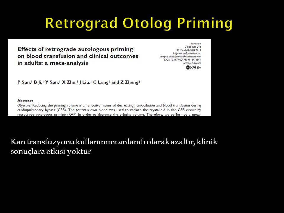 Retrograd Otolog Priming