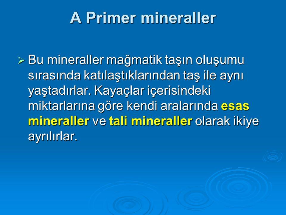 A Primer mineraller