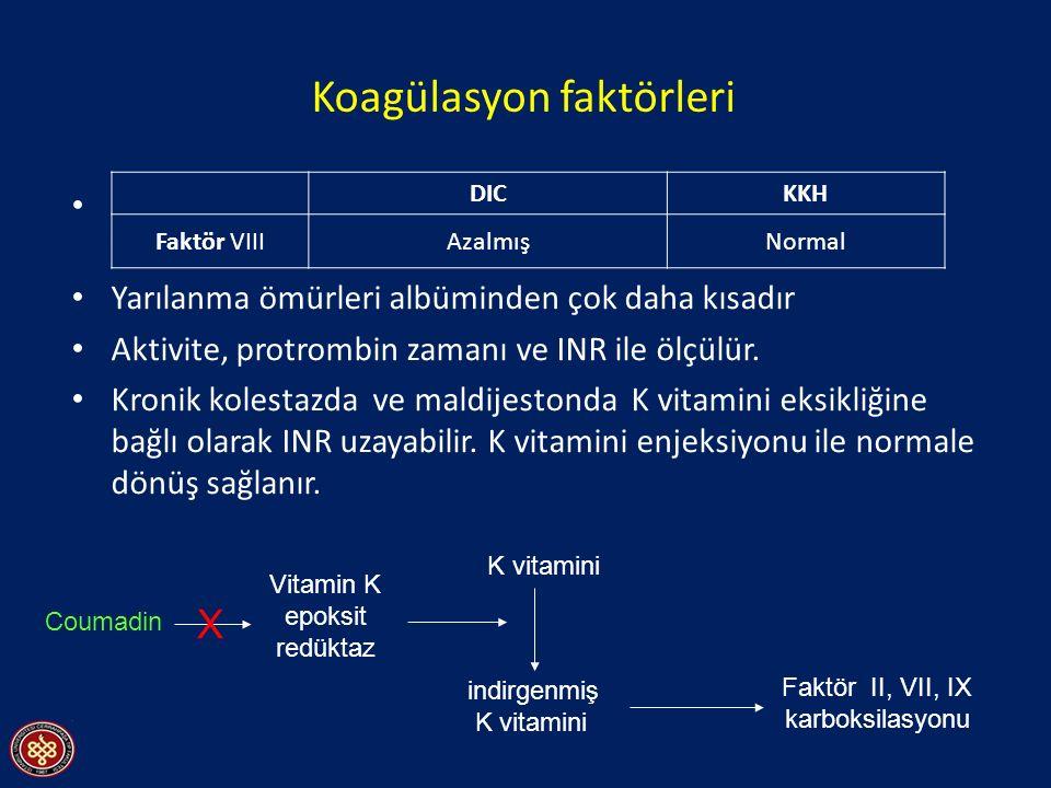 Koagülasyon faktörleri