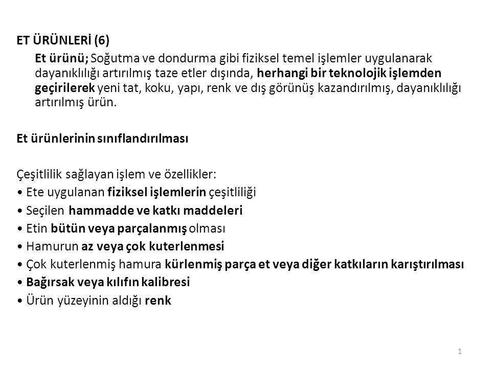 ET ÜRÜNLERİ (6)