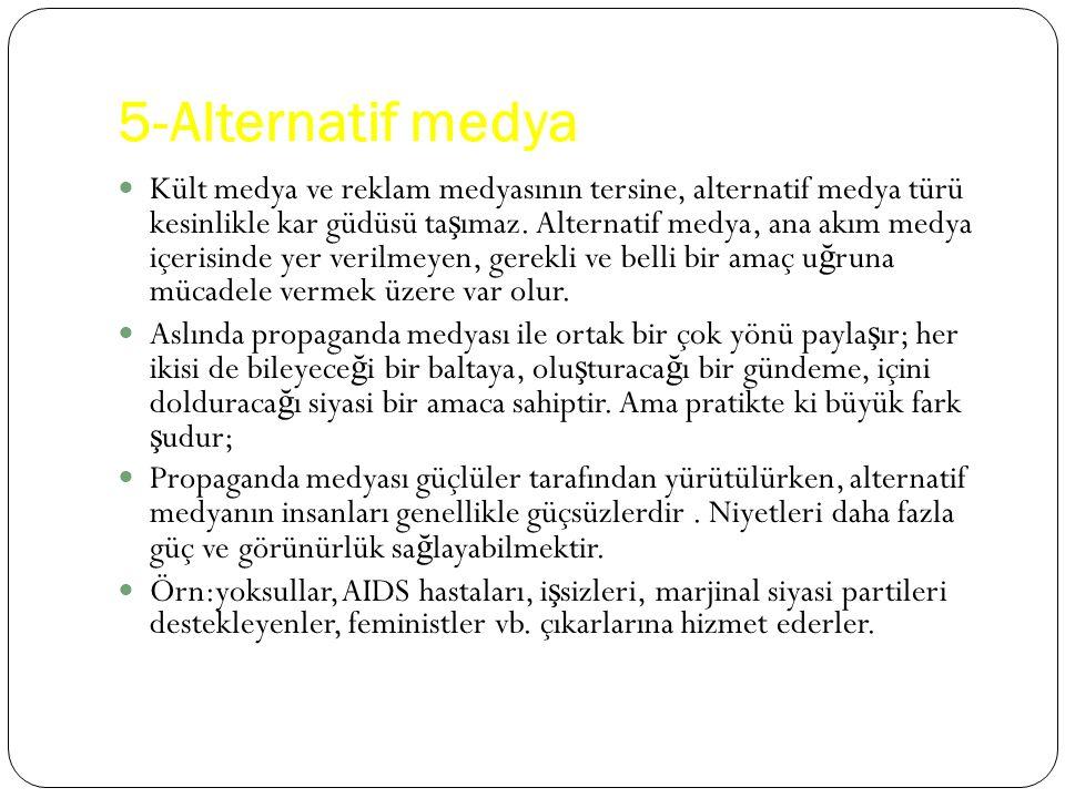 5-Alternatif medya