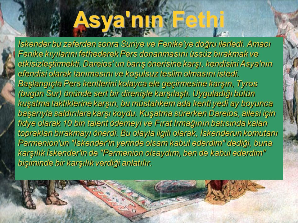 Asya nın Fethi