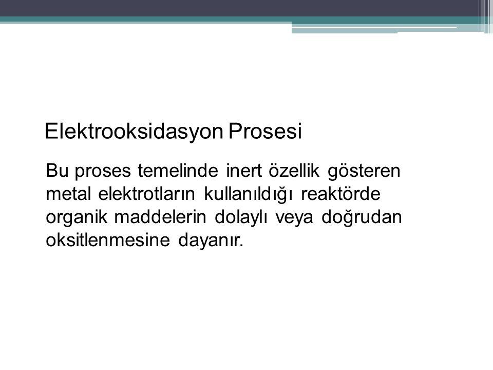 Elektrooksidasyon Prosesi
