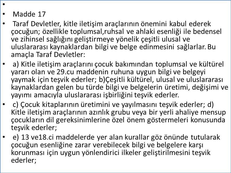 Madde 17.