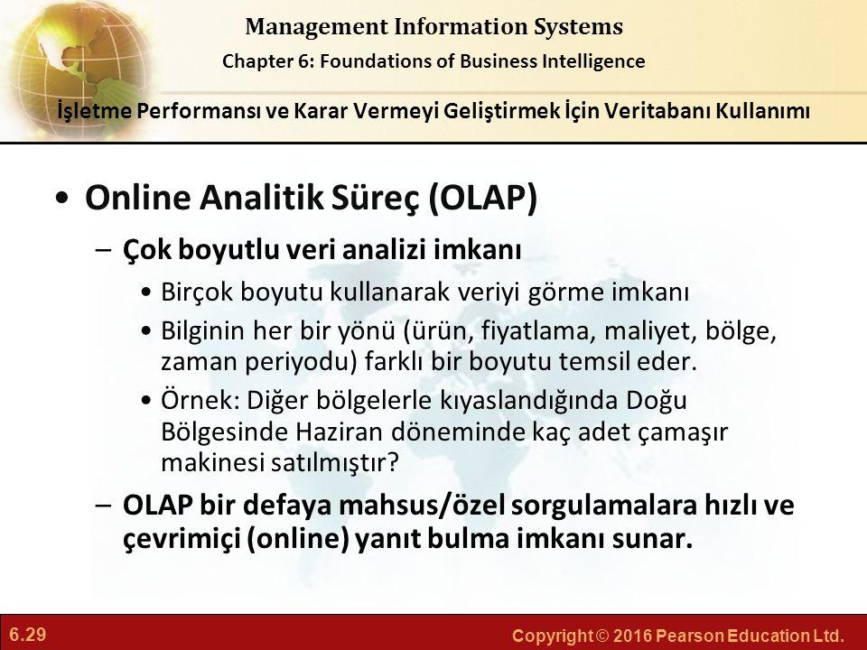 Online Analitik Süreç (OLAP)