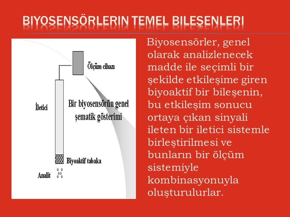 Biyosensörlerin Temel Bileşenleri