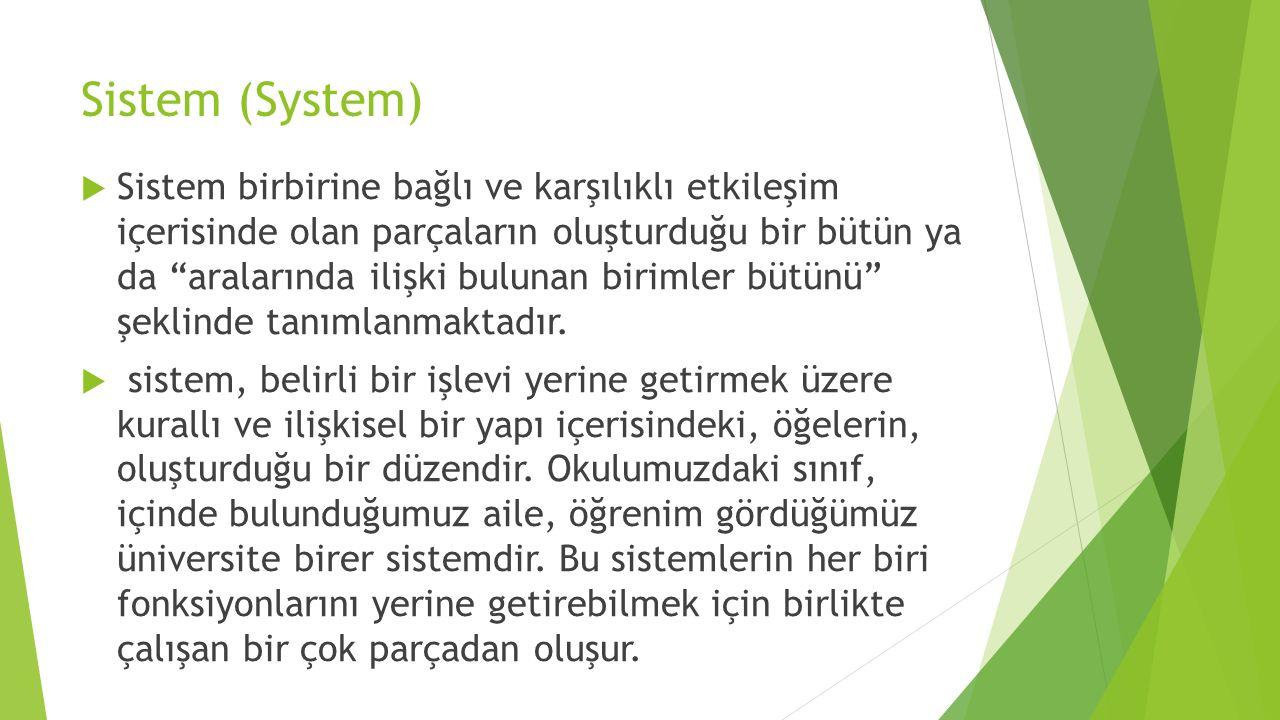 Sistem (System)