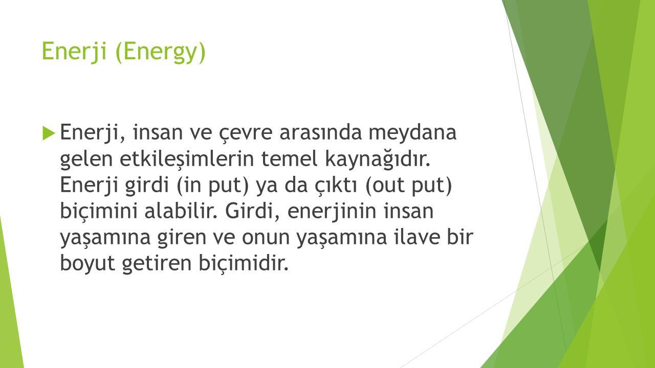 Enerji (Energy)
