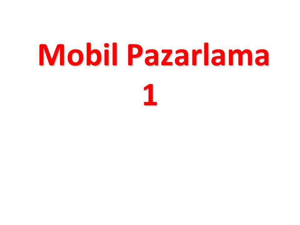 Mobil Pazarlama 1