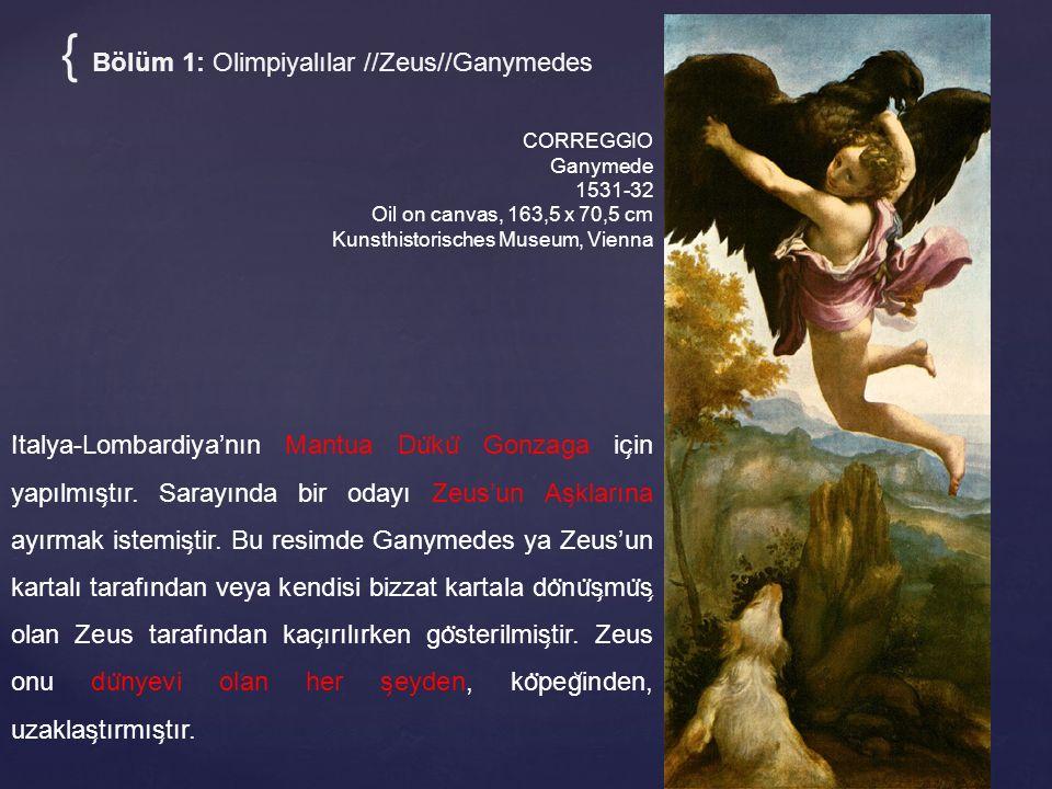 { Bölüm 1: Olimpiyalılar //Zeus//Ganymedes
