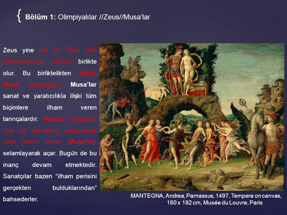 { Bölüm 1: Olimpiyalılar //Zeus//Musa'lar
