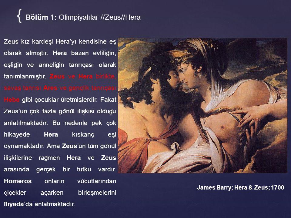 { Bölüm 1: Olimpiyalılar //Zeus//Hera