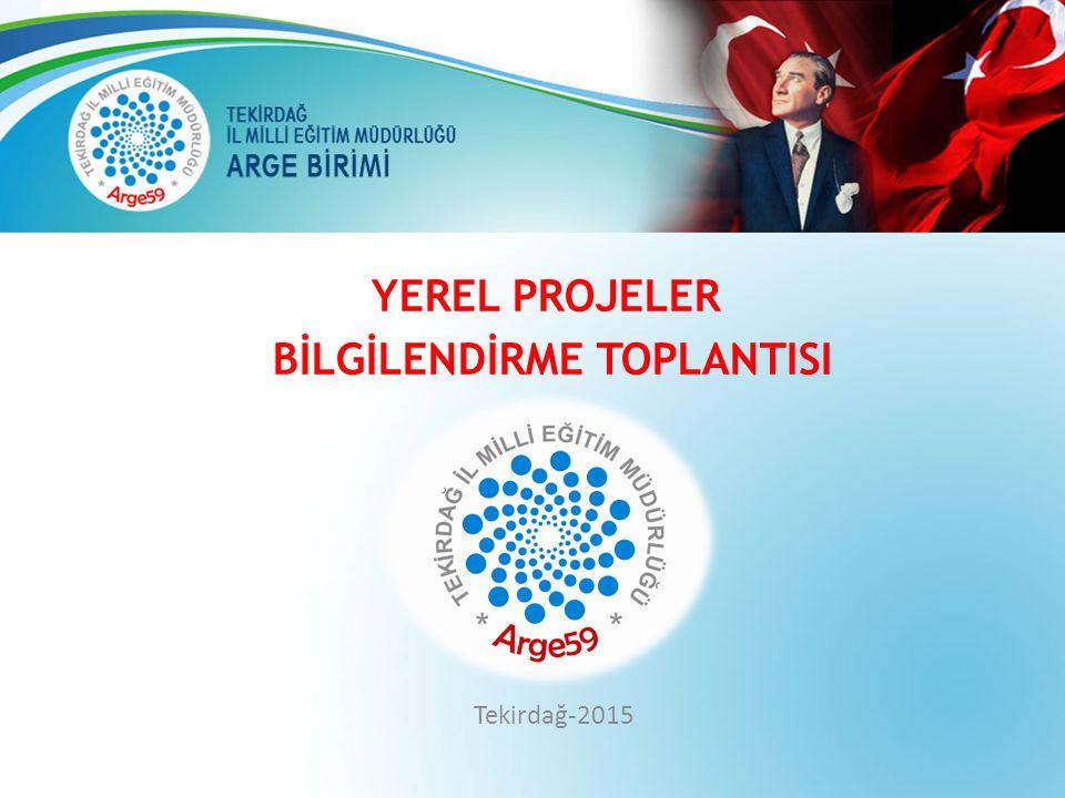 YEREL PROJELER BİLGİLENDİRME TOPLANTISI