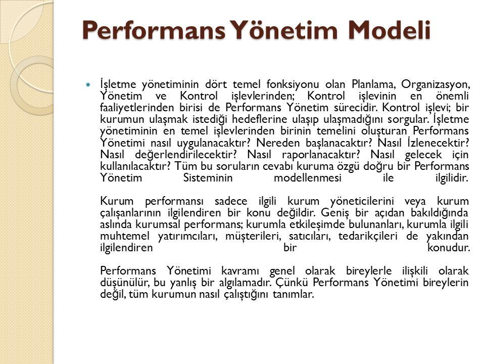 Performans Yönetim Modeli