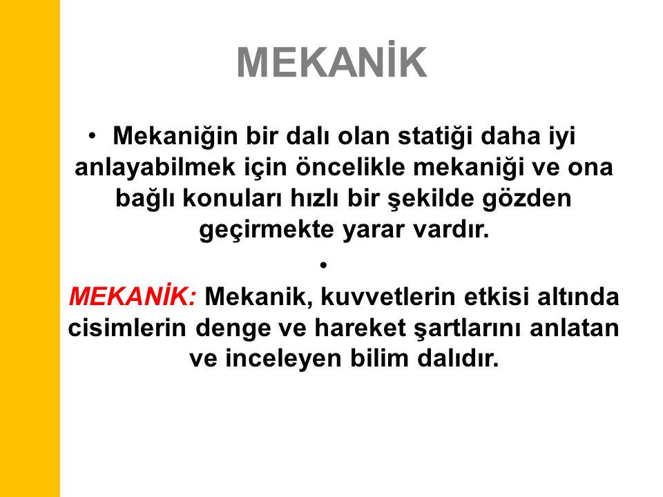 MEKANİK