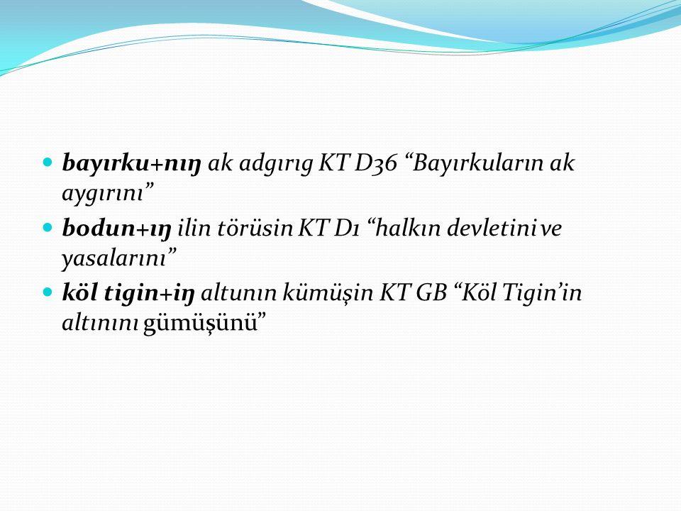 bayırku+nıŋ ak adgırıg KT D36 Bayırkuların ak aygırını