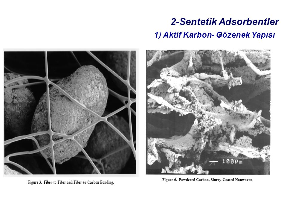 2-Sentetik Adsorbentler