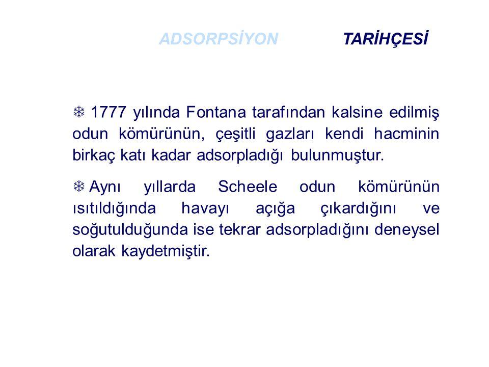 ADSORPSİYON TARİHÇESİ