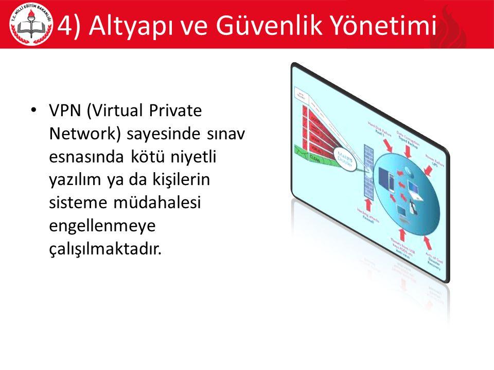 4) Altyapı ve Güvenlik Yönetimi