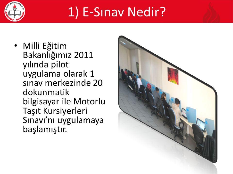 1) E-Sınav Nedir