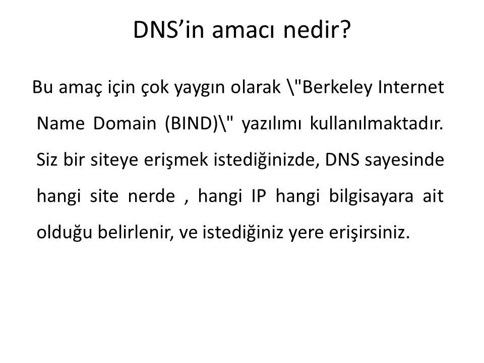 DNS'in amacı nedir