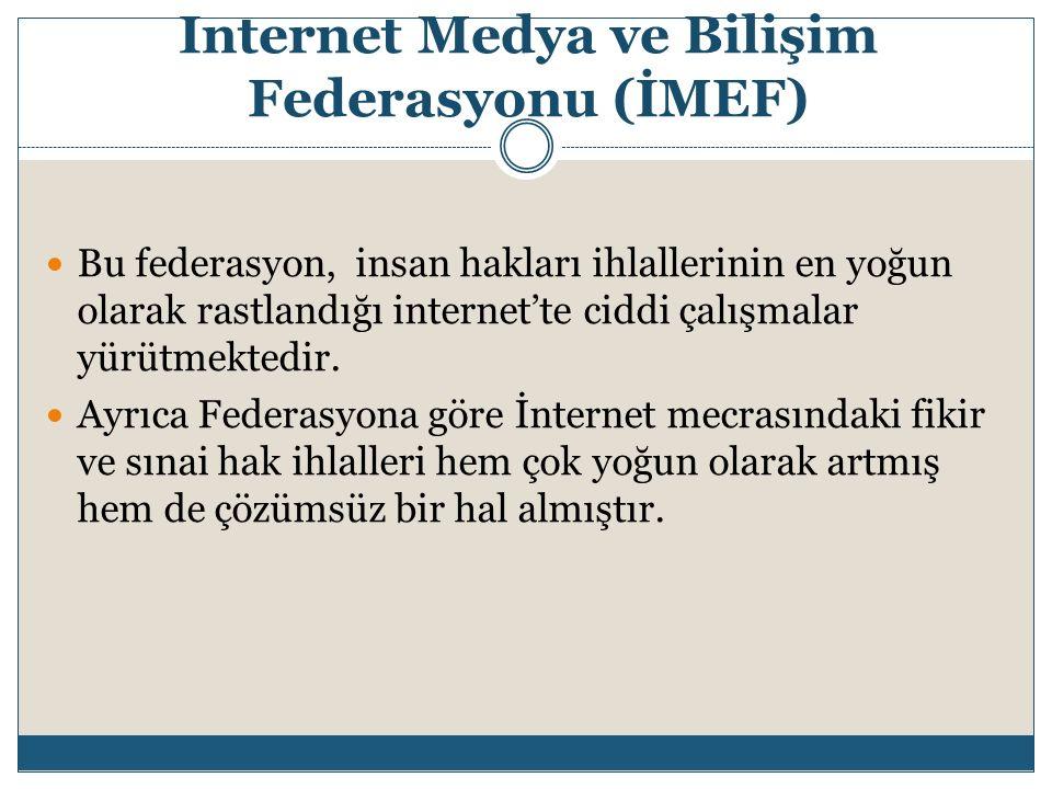 Internet Medya ve Bilişim Federasyonu (İMEF)