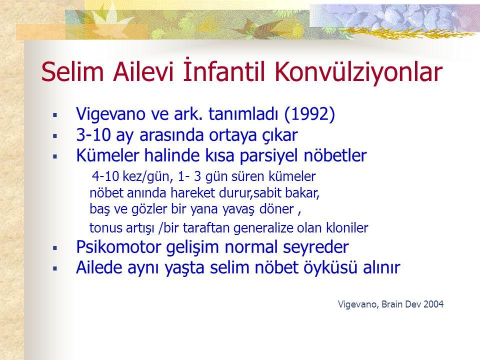 Selim Ailevi İnfantil Konvülziyonlar