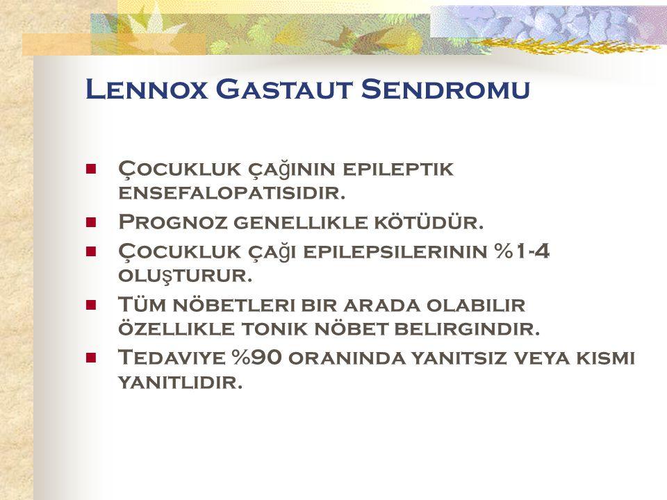 Lennox Gastaut Sendromu