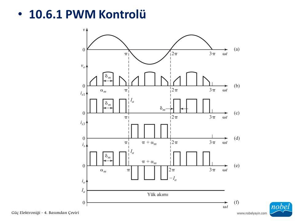 10.6.1 PWM Kontrolü