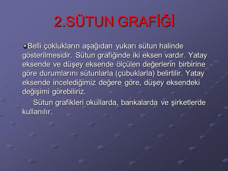 2.SÜTUN GRAFİĞİ