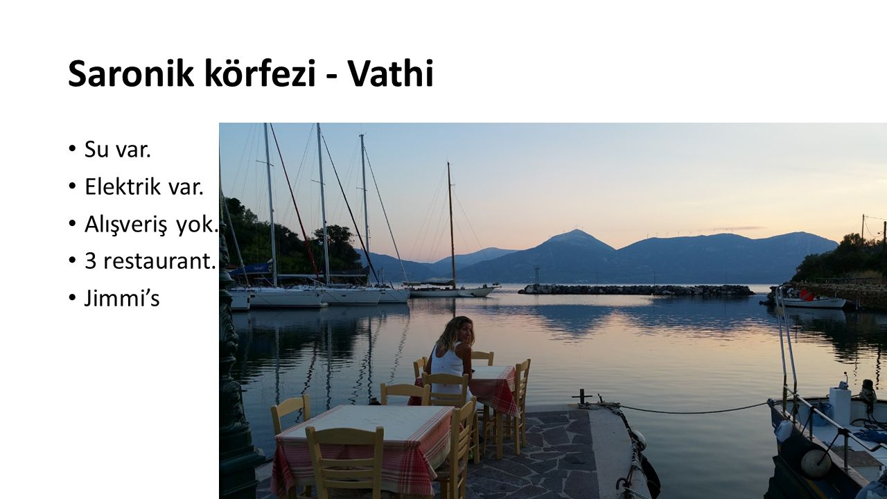 Saronik körfezi - Vathi