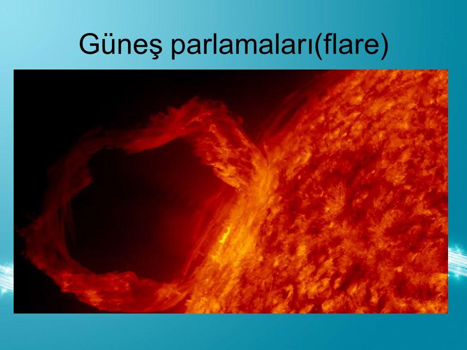 Güneş parlamaları(flare)