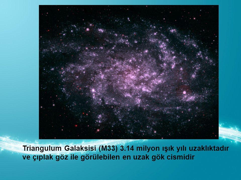 Triangulum Galaksisi (M33) 3