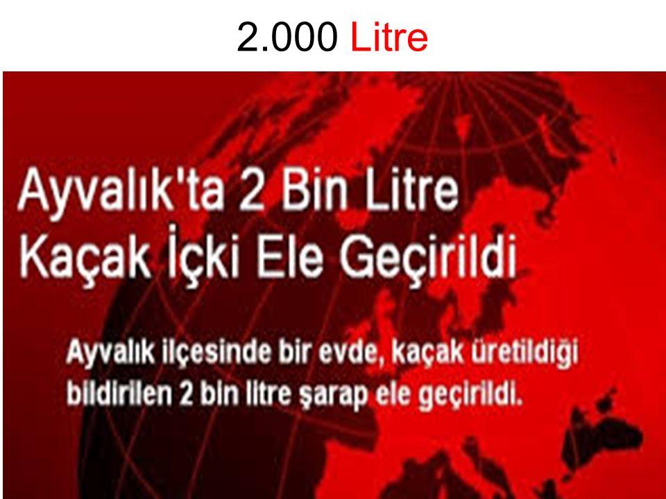2.000 Litre