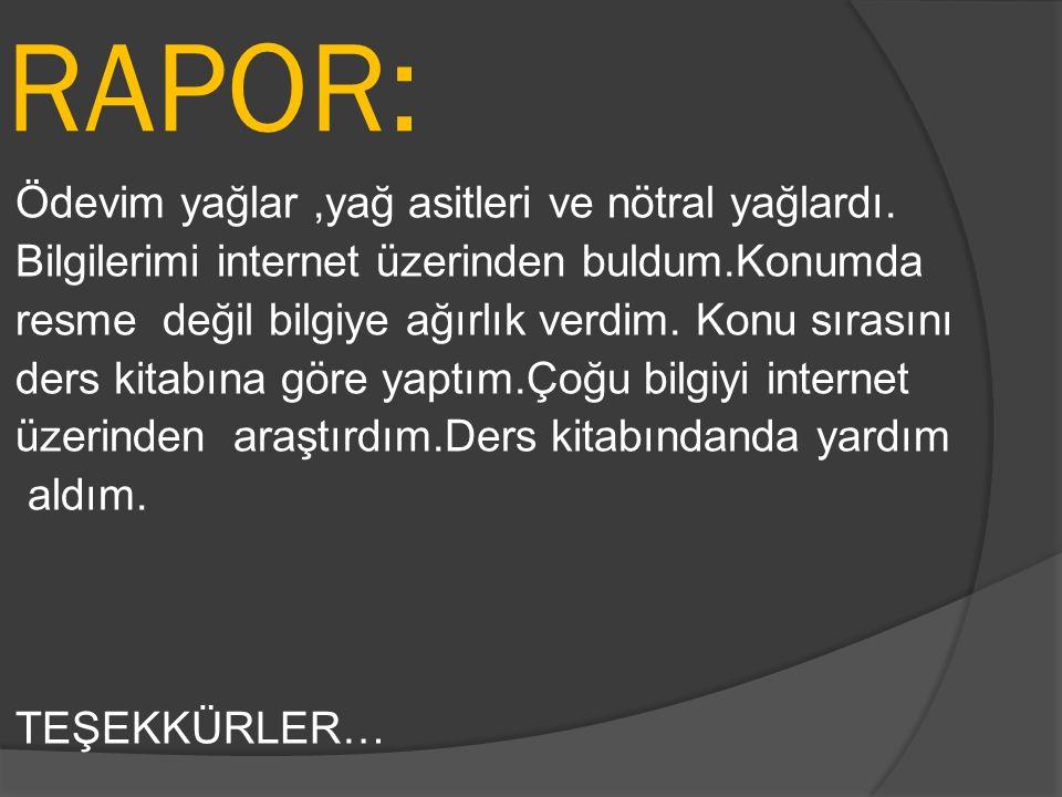 RAPOR: